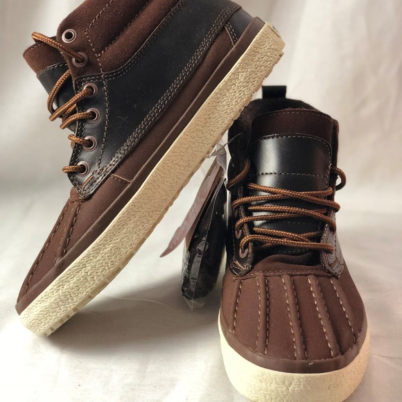 abcd58425aaa31 Vans Shoes | Sk8hi Del Pato Mte Dx Brown Duck Boots | Poshmark